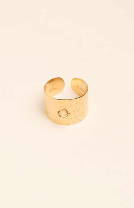 "BAGUE ""LOCKER"" NINE - CAPSULE CHARM'S SWAROVSKI®"